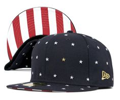 ONSPOTZ ORIGINAL NEWERA 59FIFTY STAR DOTS NAVY   NEW ERA CAP   7acced8c45b