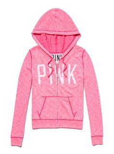 Pink Hoodie Jacket