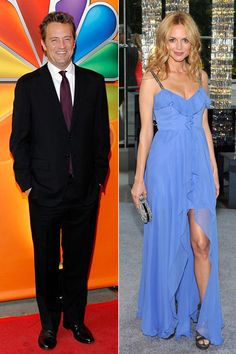 Matthew Perry & Heather Graham    Matthew Perry reportedly hooked up with Heather Graham in 2003, but the fling didn't last long -- they were already over by the same year. Perry is now with actress Lizzy Caplan, while Graham has been dating her Son of Morning directorYaniv Raz since 2008. Check out other celebrity couples that managed to stay under the radar.