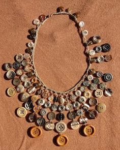 Something you could make with your grandmother's button collection.