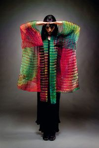 wearable fiber art   Fiberarts Magazine > Wearable Art at Scottsdale Fashion Week