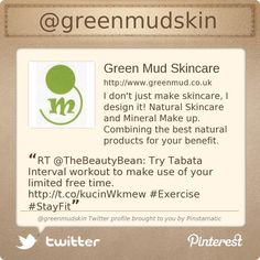 @greenmudskin's Twitter profile courtesy of @Pinstamatic (http://pinstamatic.com)  #naturalskincare