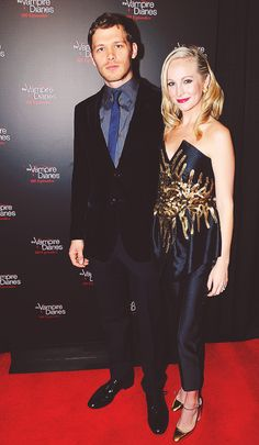 #TVD100 Joseph Morgan and Candice Accola