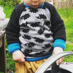 Pull en merinos pour petit loup.qui veut toujoirs être dehors (à15mois il sait déjà ouvrir la porte de la cuisine pour filer dans le jardin!)  #merinos #fabrics #myllymuksut #oekotex #ottobredesign #ottobre2016  #coutureaddict #couturebebe #18months #24months #babyboy #sewing #sewingforbaby #sewingforkids #babyboy #madebyme #madebymum  #herisson