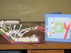 Christmas cards I made in 2010 (in some cases I cannot claim these ideas as original, though I'm not sure the sources)
