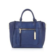 """Vince Camuto """"Rhone"""" Leather Satchel 