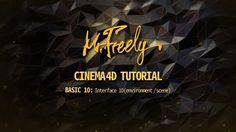 Cinema 4D tutorial_Basic10_Interface10 (Environment / Scene) (시네마4D 기초강좌...