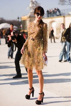 Travel the world in this dress?? Sure, why not. #gorgeous #classychic