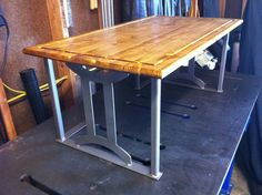 Stand up desk ... Spruce and Steel.