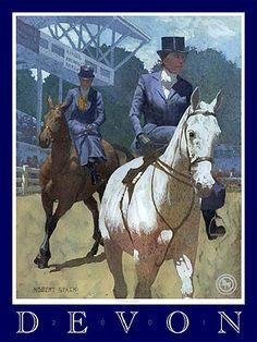 Devon Horse Show Poster