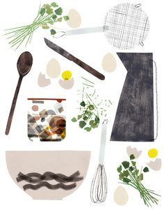 Claire Softley #kitchen #illustration