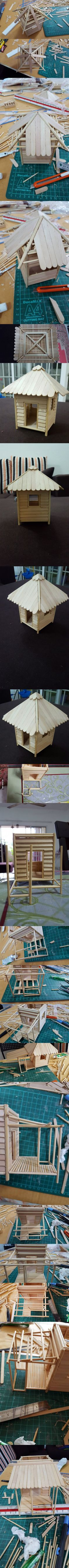 Step by Step to Make a Mini Beach Hut Part 2