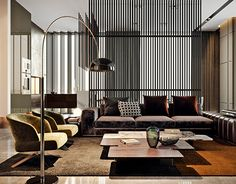"TOL'KO / ""OKO"" Luxurious apartment at Moscow city"