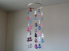 Nautical Anchor mobile Nautical inspiration by KraftynKatchy