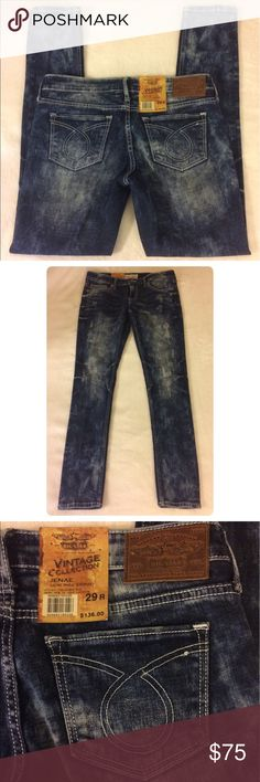 NWT Big Star Jenae skinny jean, size 29 NWT Big Star low rise skinny Jenae jean. Slight destruction, but no actual holes. Fabric contains 6% stretch. Size: 29 (true to size) Big Star Jeans Skinny