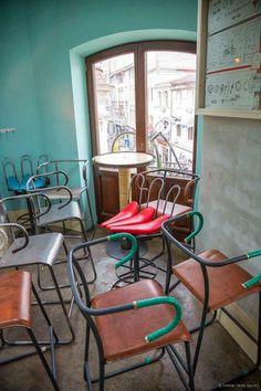 Un bar que va sobre ruedas para los apasionados de la bicicleta.