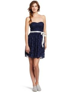 Trixxi Juniors Floral Lace Dress