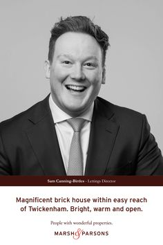 Creative recruitment campaign, 'People with wonderful properties' – Stand-out advertising from London estate agents, Marsh & Parsons. #ad #advertising #poster #recruitmentcampaign #creativemarketing #creativecampaign #londonestateagent #recruitment #people