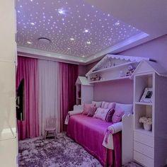 Kids Bedroom Designs, Cute Bedroom Ideas, Kids Room Design, Kids Bedroom Girls, Tween Girls, Baby Room Decor, Bedroom Decor, Girls Bedroom Furniture, Little Girl Rooms