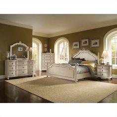 ART Furniture Provenance Panel Bed Bedroom Set In Linen