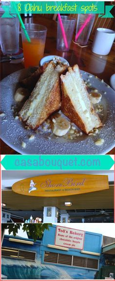 Great Honolulu on Oahu is a great place for brunch and breakfast. Tropical fruits and ..., ,