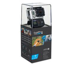 GoPro HERO3 Black Edition - Videocámara de 12 Mp (estabilizador de imagen óptico, vídeo Full HD 1080p, resistente al agua, WiFi) color negro - http://complementoideal.com/producto/tienda-socios/gopro-hero3-black-edition-videocmara-de-12-mp-estabilizador-de-imagen-ptico-vdeo-full-hd-1080p-resistente-al-agua-wifi-color-negro/