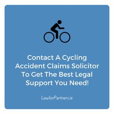 At Lawlor Partners, our cycling accident claims solicitors are well-versed with handling different types of cycling accident cases. They focus on building strong cases in a bid to get the maximum possible compensation for our clients. Medical Malpractice Lawyers, Legal Support, Fight For You, Personal Injury, Cycling, How To Get, Bear, Roads, Action