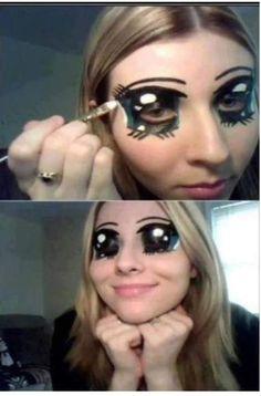 Halloween makeup. WOW