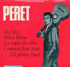 Peret : La copa de vino [Grabación sonora] / Peret.-- Barcelona : Discophon, 1965.  1GS/M/19