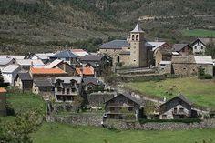 Vista del pueblo de Aisa