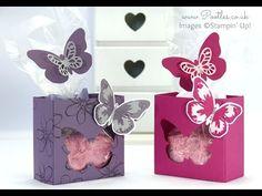 Watercolor Wings, Bold Butterflies Framelits, Garden In Bloom - video