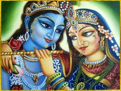 Lotus-Eyed Sri Krishna