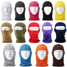 Outdoor Sports Neck Warmer Bicycle Cycling Full Face Mask Skateboard Motorcycle Ski Riding Head Scarf Scarves Bandana Protect #women, #men, #hats, #watches, #belts, #fashion, #style