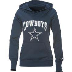 Nike Women's Dallas Cowboys Wildcard All Time Rib Hoodie