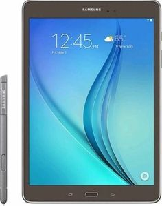 Samsung Galaxy Tab A 16 GB Wifi Tablet (Smoky Titanium) >>> Check this awesome product by going to the link at the image. (This is an affiliate link) Samsung Galaxy Tablet, Samsung Device, S5 Samsung, Quad, Wifi, Thing 1, Computer Accessories, Travel Accessories, Affiliate Marketing