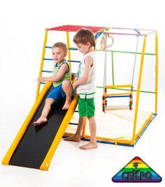 Детские спортивные комплексы, детские площадки и детская мебель от украинского производителя ТМ СЕКРО. http://sekro.ua