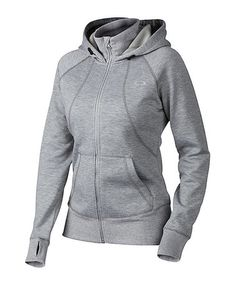 Love this Heather Gray Back To The Top Zip-Up Hoodie by Oakley on #zulily! #zulilyfinds
