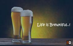 Save Water, Drink Beer..! Cheers! #bookingdiva #booknow #beer #life #beerlove #brewtiful #foodpuns