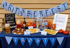 Oktoberfest Party Decor - printables and tips!