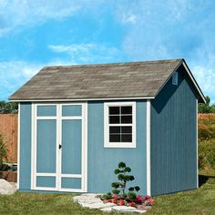 Find This Pin And More On Costco This And That. X 8 Ft. Wood Storage Shed