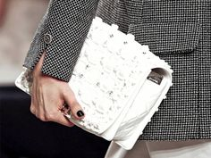 Chanel Cruise White Bag 2014