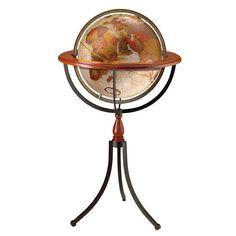 Santa Fe World Globe   for the adventure room!
