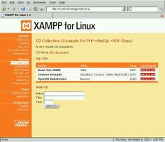 Simple MySQL example