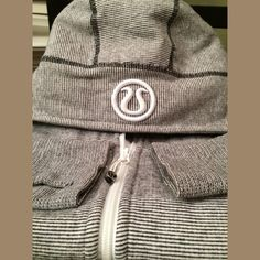 """Lululemon Scuba Hoodie You are Beautiful EUC.  My all time favourite scuba from Lululemon.  Not sure I want to sell it, so price is high. Pit to pit 21"""", shoulder to hip cuff 26"""", hip/waist band 20"""".  Has the thumb holes & side panels. No trades or other payment methods.  Low ballers will be declined. lululemon athletica Jackets & Coats"""