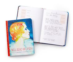 A journal that lets you keep track of and reflect on all of the awesome books you've read.