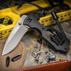 Make Handyman Your Knife for Life — A Compact, Rugged Multi-Tool Built Around a Beefy, Utilitarian Blade!
