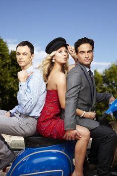 Sheldon, Penny and Leonard ~ The Big Bang Theory