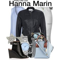 Inspired by Ashley Benson as Hanna Marin on Pretty Little Liars.