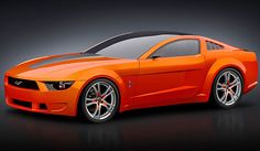 Lovely   Ford Mustang Redesign