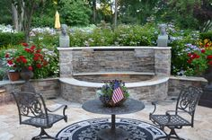 A peaceful seating area. Mendham Boro, NJ Coldwell Banker Residential Brokerage $3,375,000